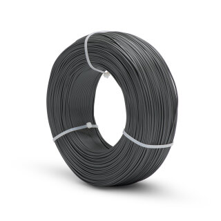 Fiberlogy Easy PLA REFILL 1,75mm Filament graphit 0,85kg